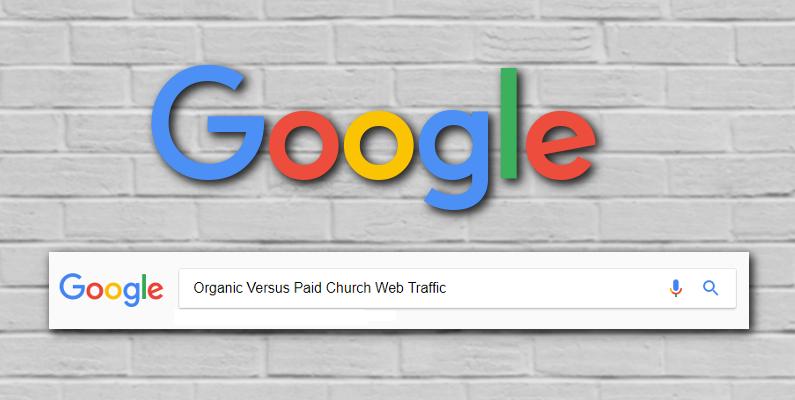 church web traffic