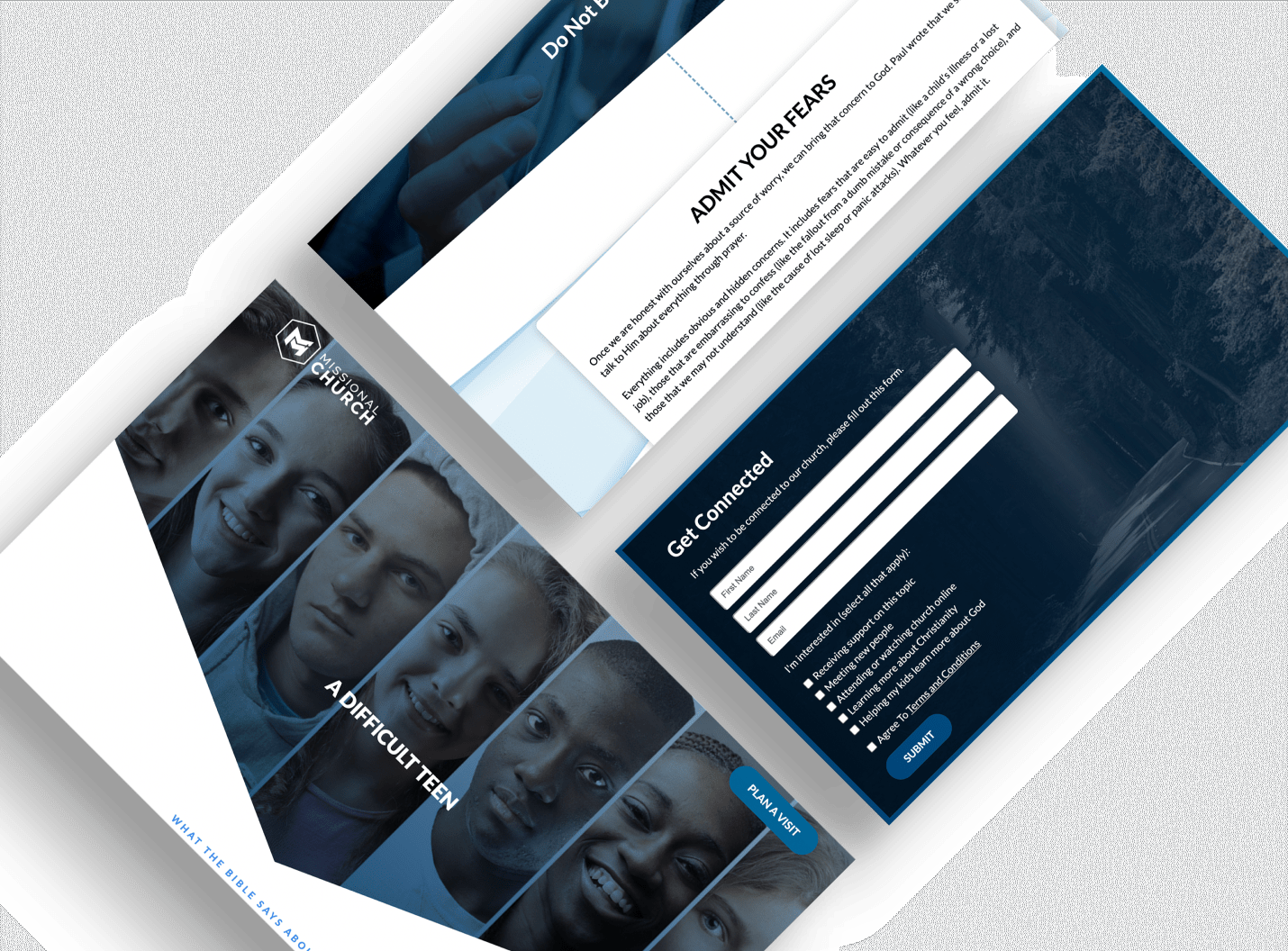 Example Landing Pages