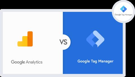 google analytics vs google tag manager