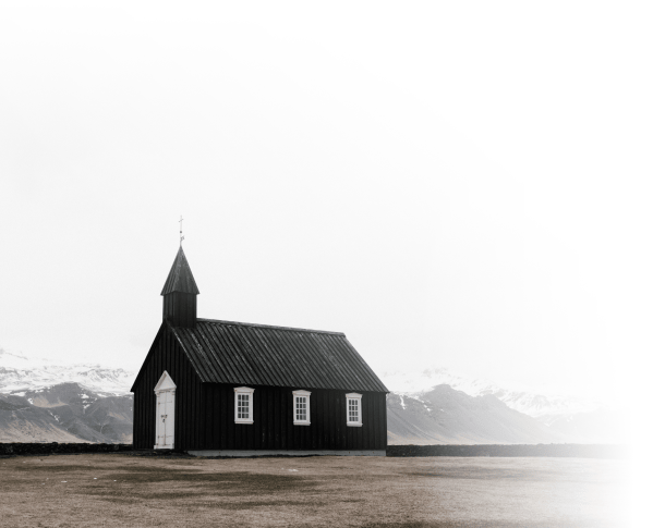 Black Chapel in the Mountains