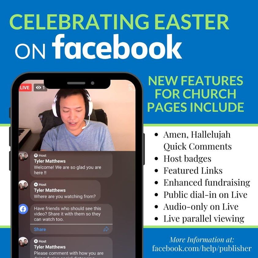 Facebook Easter Streaming Updates