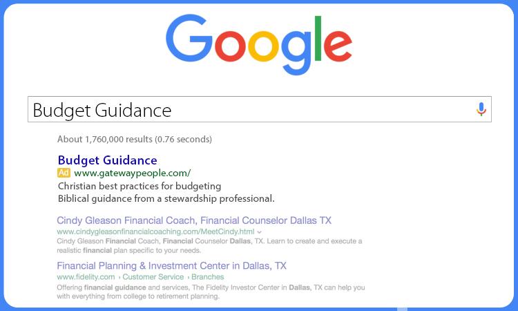 BudgetGuidance-Google-Gateway