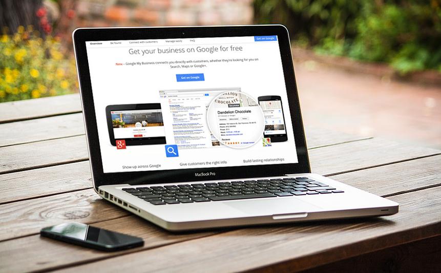 google my business follow button