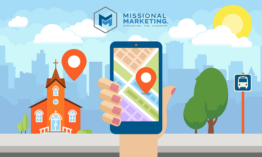 google maps for churches