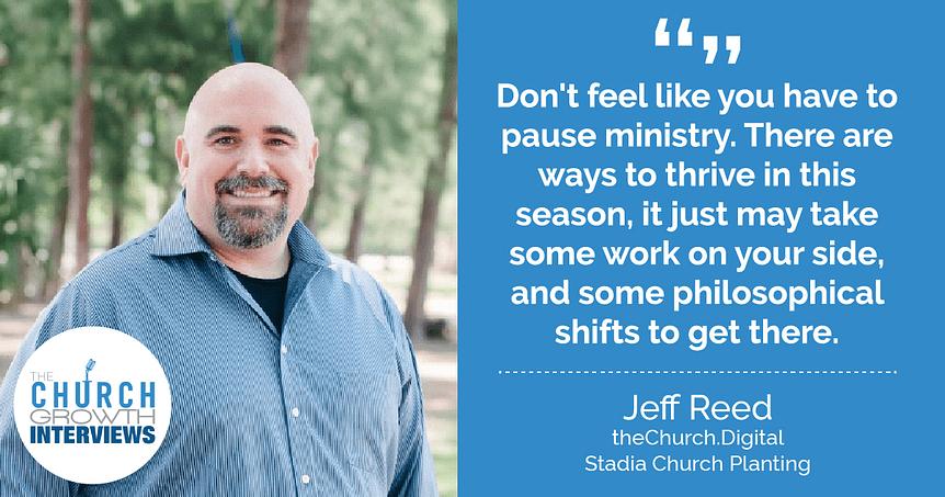 Jeff Reed Church online
