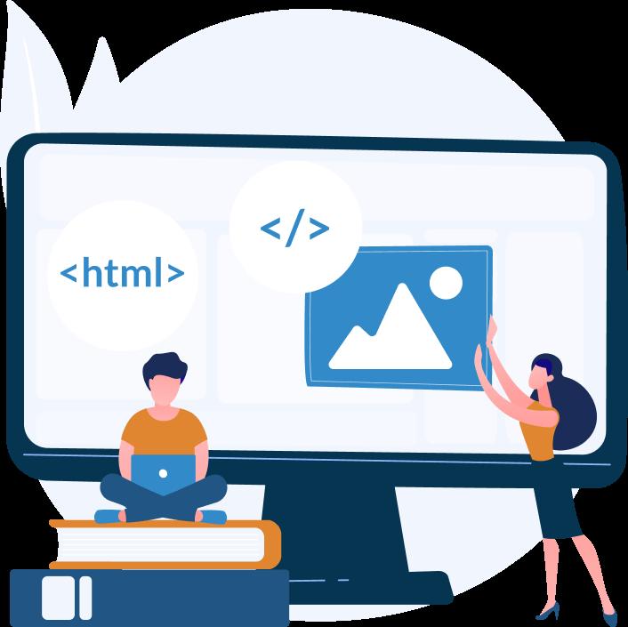 We build the web app