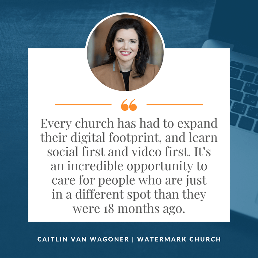 Caitlin Van Wagoner Church Communications Watermark Church