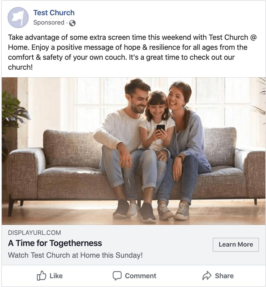 Digital Advertising for Church Online