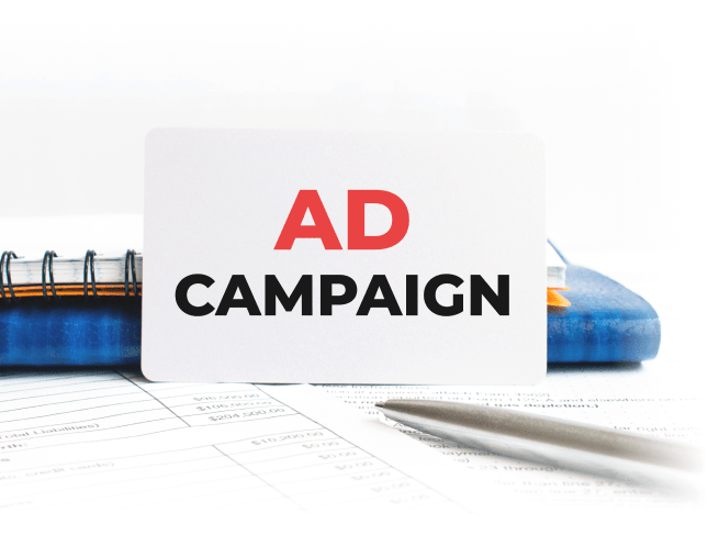 Ad Campaign Business Card