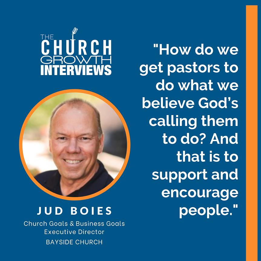 Jud Boies Church Leadership Bayside