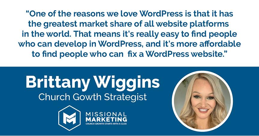 Brittany Wiggins Church Growth