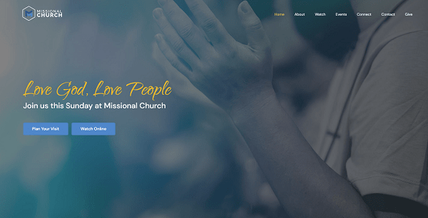 Demo Site Screenshot #1