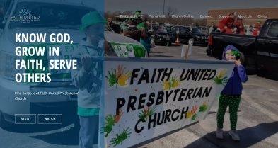 faith united website thumbnail