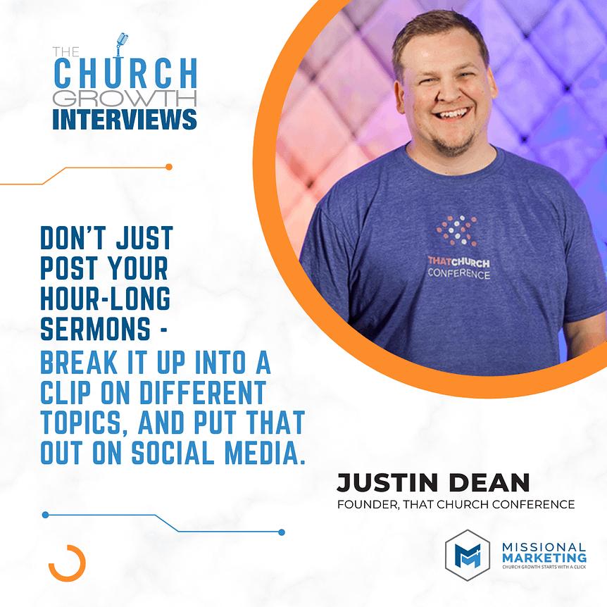 Justin Dean Grow Your Church